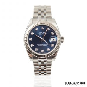Shop Ladies Rolex Datejust 31mm Watch Ref: 178274