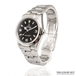 Rolex Explorer Black Dial Watch Ref: 114270