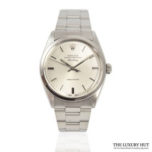 Shop Rolex Air-King Super Precision Watch Ref: 5500