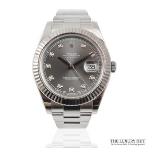 Shop Rolex Datejust II Diamond Dial Ref: 116334