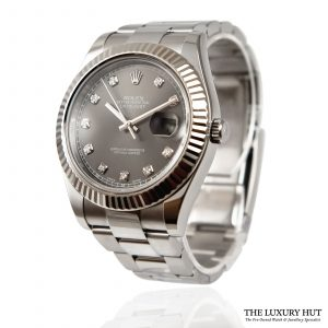 Rolex Datejust II Diamond Dial Ref: 116334