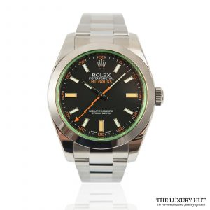 Shop Rolex Milgauss 40mm Watch Ref: 116400GV