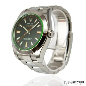 Shop Rolex Milgauss Watch Ref: 116400GV