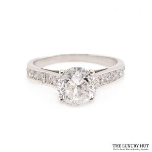 Shop Platinum 2.43ct Certified Diamond Engagement Ring