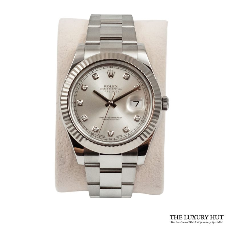 Buy Rolex Datejust II Diamond Watch Ref: 116334