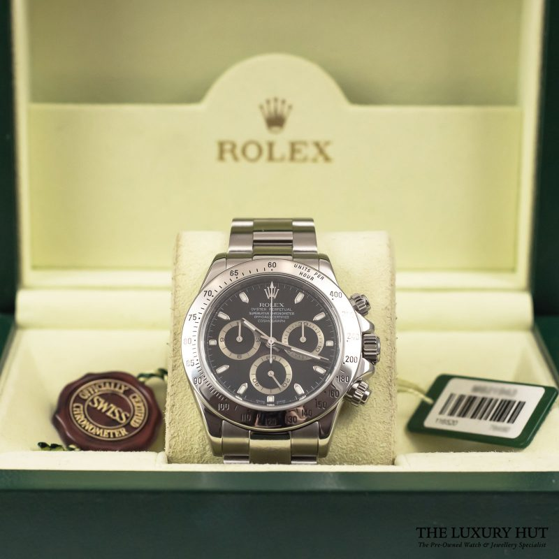 Buy Rolex Daytona Black Watch Ref: 116520