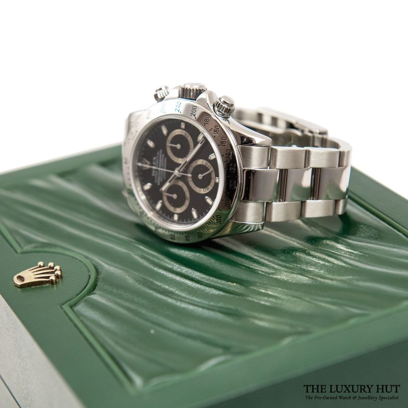 Rolex Daytona Black Watch Ref: 116520