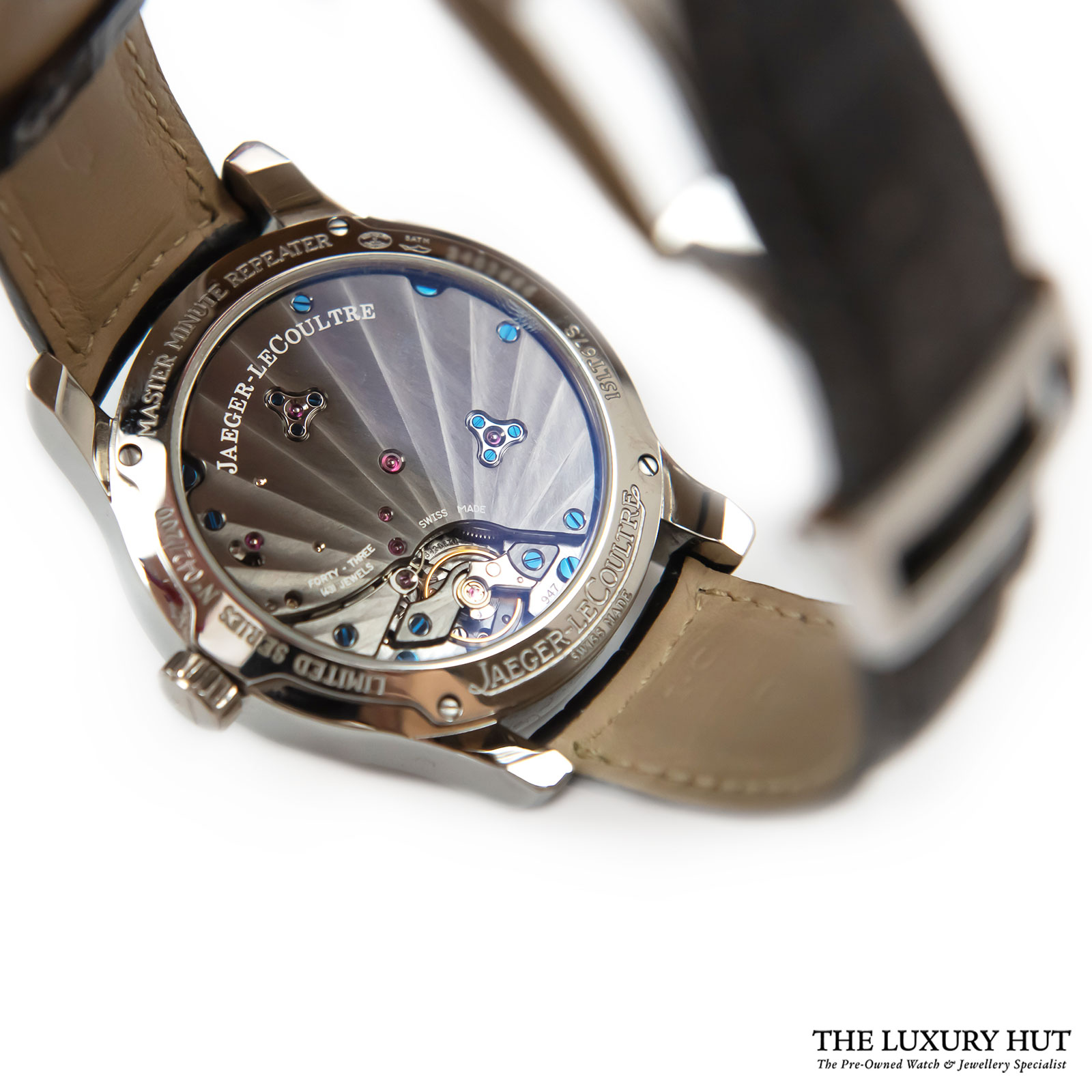JAEGER LECOULTRE  MASTER MINUTE REPEATER LIMITED E...