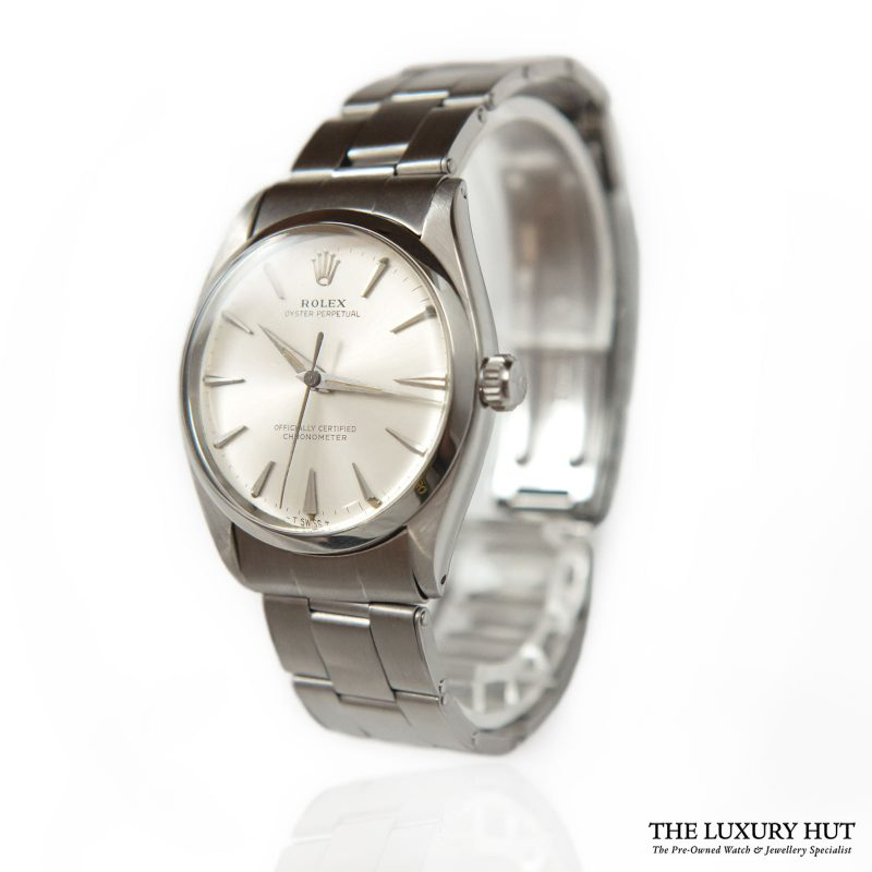Buy Rolex Oyster Perpetual Silver Ref: 6564