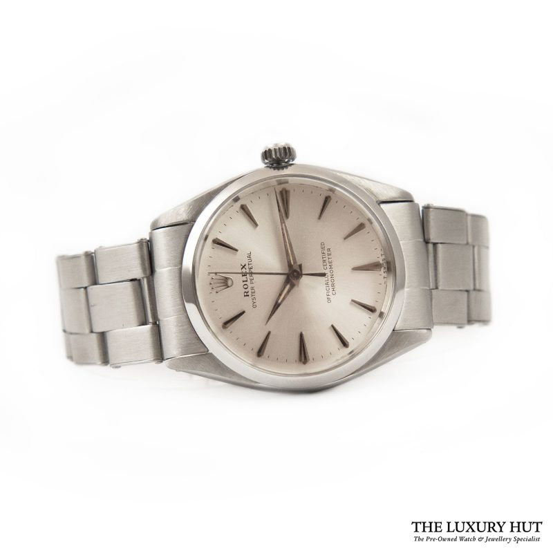 Buy Rolex Oyster Perpetual Silver Dial Ref: 6564