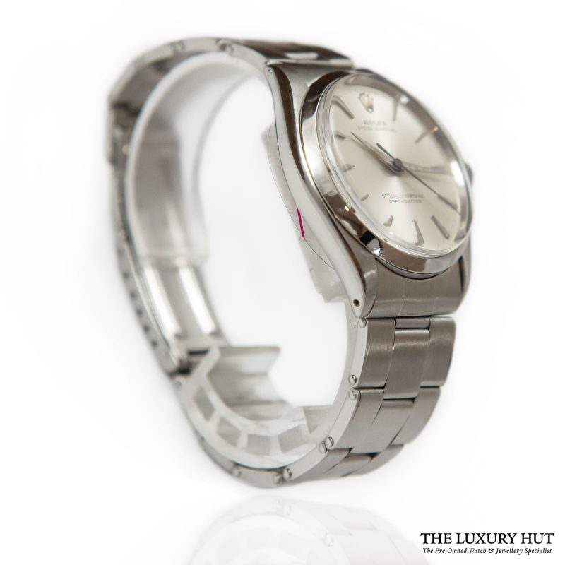 Rolex Oyster Perpetual Silver Ref: 6564