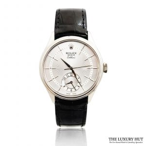 Buy Rolex Cellini dual time 39mm watch Ref: 50529
