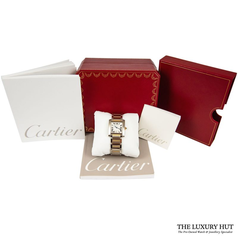 Buy Cartier Tank Francaise Ladies Watch Ref: 2302