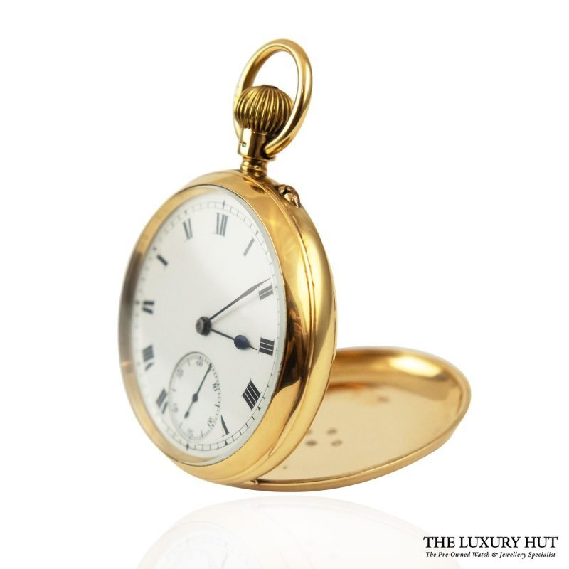 Vintage 18ct Yellow Gold Lever Pocket Watch