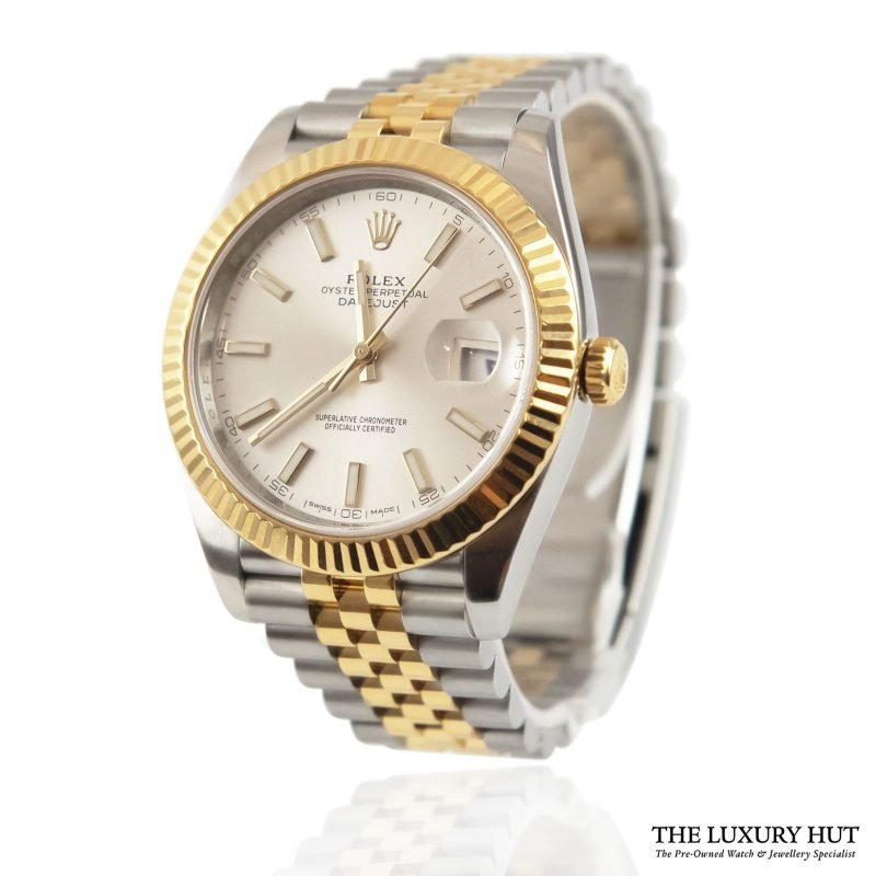 Buy Rolex Datejust Silver Dial Ref: 126333