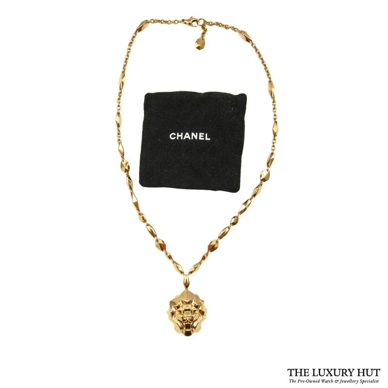 Buy 18ct Yellow Gold Chanel Necklace Ref: J10760