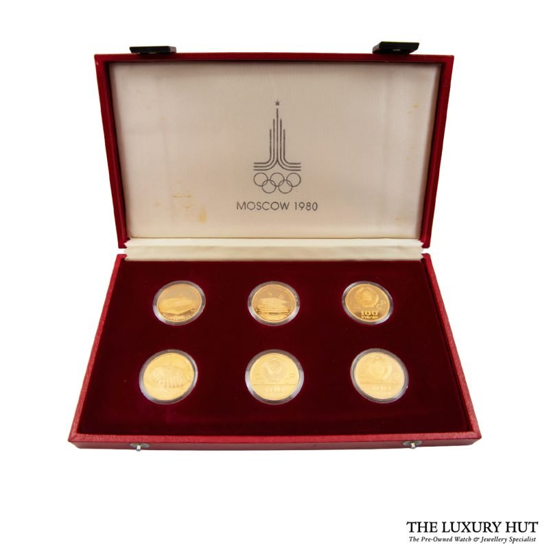 Buy Gold Coins From The 1980 Olympic Games