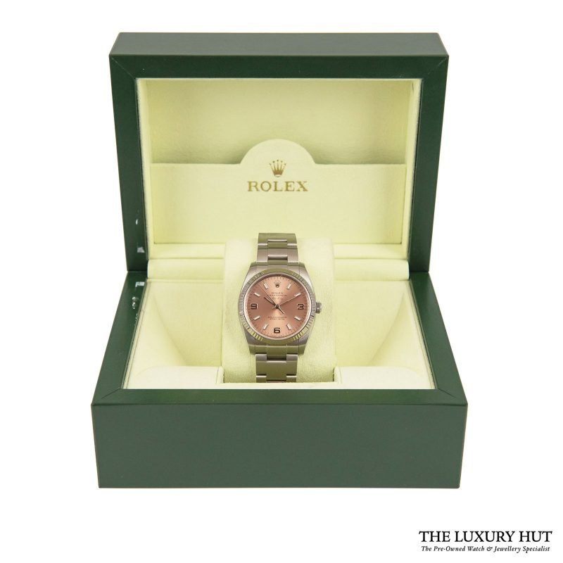 Buy Rolex Air-King Pink Dial Ref: 114234