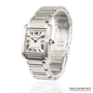 Buy Cartier Tank Francaise Watch Ref: 2465